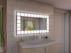 Badspiegel mit LED Beleuchtung - Wina