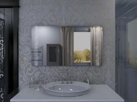 Badspiegel mit LED Beleuchtung - Maylien