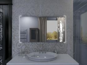 Badspiegel mit LED Beleuchtung - Kaya