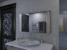 Badspiegel mit LED Beleuchtung - Tano