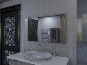 Badspiegel mit LED Beleuchtung - Amina