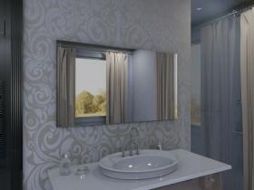 Badspiegel mit LED Beleuchtung - Hinata