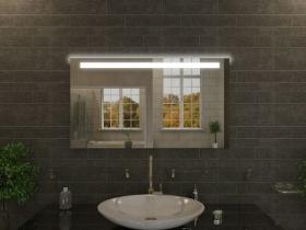 Badspiegel mit LED Beleuchtung - Ayna