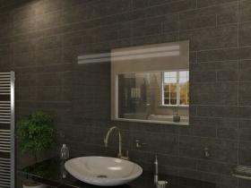 Badspiegel mit LED Beleuchtung - Saya