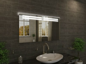 Badspiegel mit LED Beleuchtung - Luhan