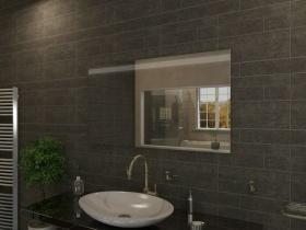 Badspiegel mit LED Beleuchtung - Qwai
