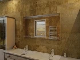 Badspiegel mit LED Beleuchtung - Liano