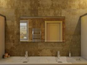 Badspiegel mit LED Beleuchtung - Kaylin