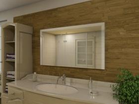 Badspiegel mit LED Beleuchtung - Mulan