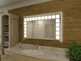 Badspiegel mit LED Beleuchtung - Amaya
