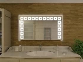 Badspiegel mit LED Beleuchtung - Lina