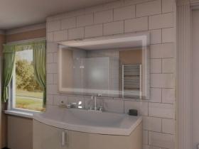 Badspiegel mit LED Beleuchtung - Naren