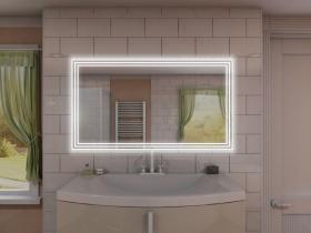 Badspiegel mit LED Beleuchtung - Ming