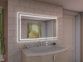 Badspiegel mit LED Beleuchtung - Lien