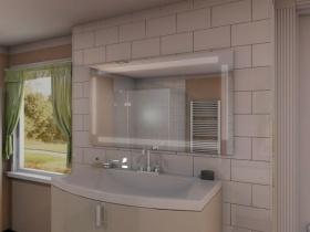 Badspiegel mit LED Beleuchtung - Niano