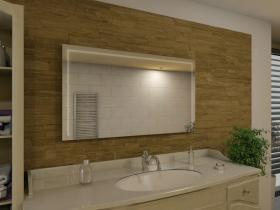Badspiegel mit LED Beleuchtung - Mimi