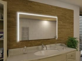 Badspiegel mit LED Beleuchtung - Aliha