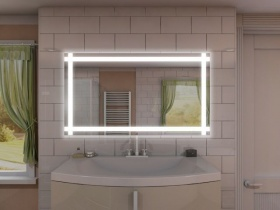 Badspiegel mit LED Beleuchtung - Pian