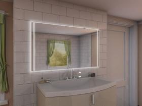 Badspiegel mit LED Beleuchtung - Xixi