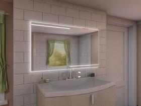 Badspiegel mit LED Beleuchtung - Jet