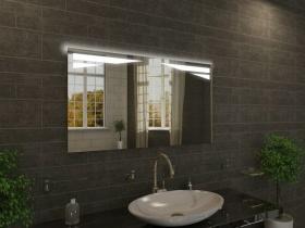 Badspiegel mit LED Beleuchtung - Serapio