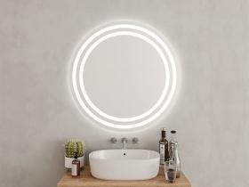 Runde Badspiegel Tao