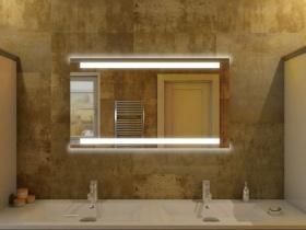 Badspiegel mit LED Beleuchtung - Yuri