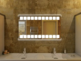Badspiegel mit LED - Tanju