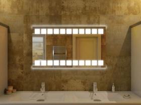 Badspiegel mit LED Beleuchtung - Tanju
