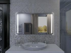 Badspiegel mit LED Beleuchtung - Yifan