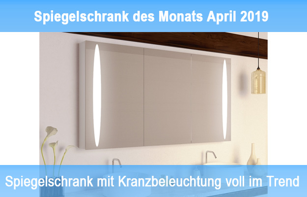 Modell Ryo – Spiegelschrank des Monats April 2019