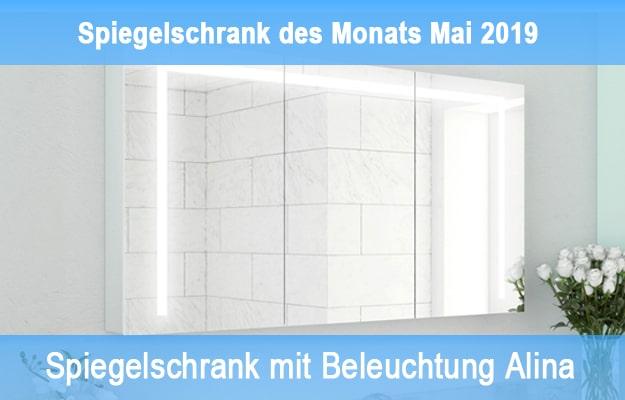 Modell Alina – Spiegelschrank des Monats Mai 2019