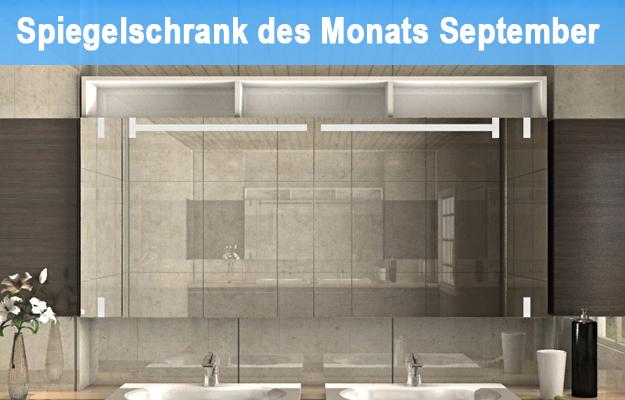 Bad Spiegelschrank Heiji ist unser Spiegelschrank des Monats September