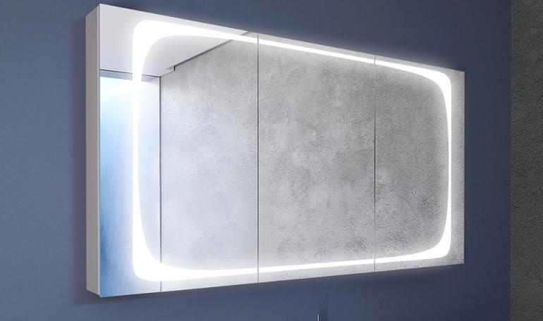 September 2018: neue Designs für Spiegelschränke sind da